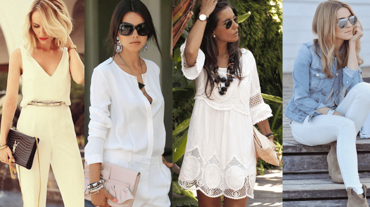 outfits blanco