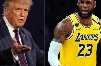 Donald Trump y LeBron James
